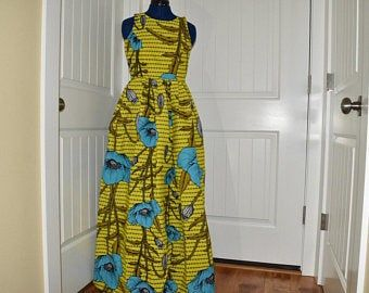 African clothing for women/ African prints dress for prom / Ankara cold shoulder dress/ African clot #africanprintdresses