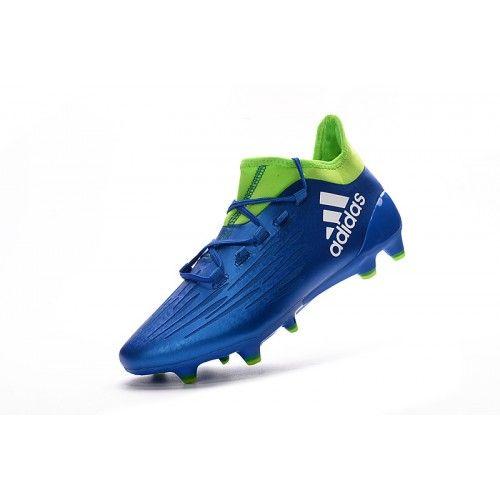 newest collection 44a8f e7ecc Football boots · Migliore Adidas X 16.1 FG TPU Blu Verde Scarpe Da Calcio