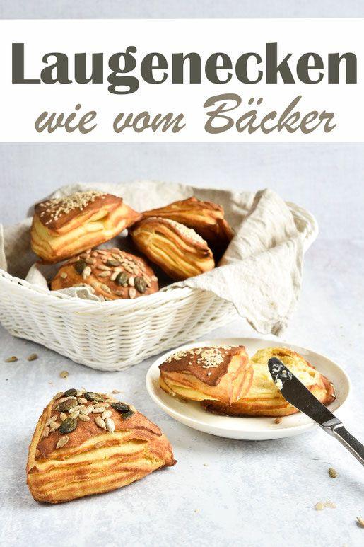 Laugenecken. Wie vom Bäcker.