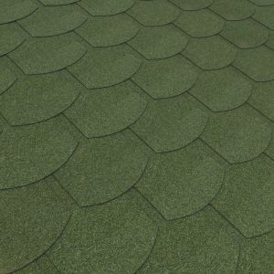 Green Roof Felt Shingle L 1m W 330mm Roofing Felt Standing Seam Metal Roof Roofing