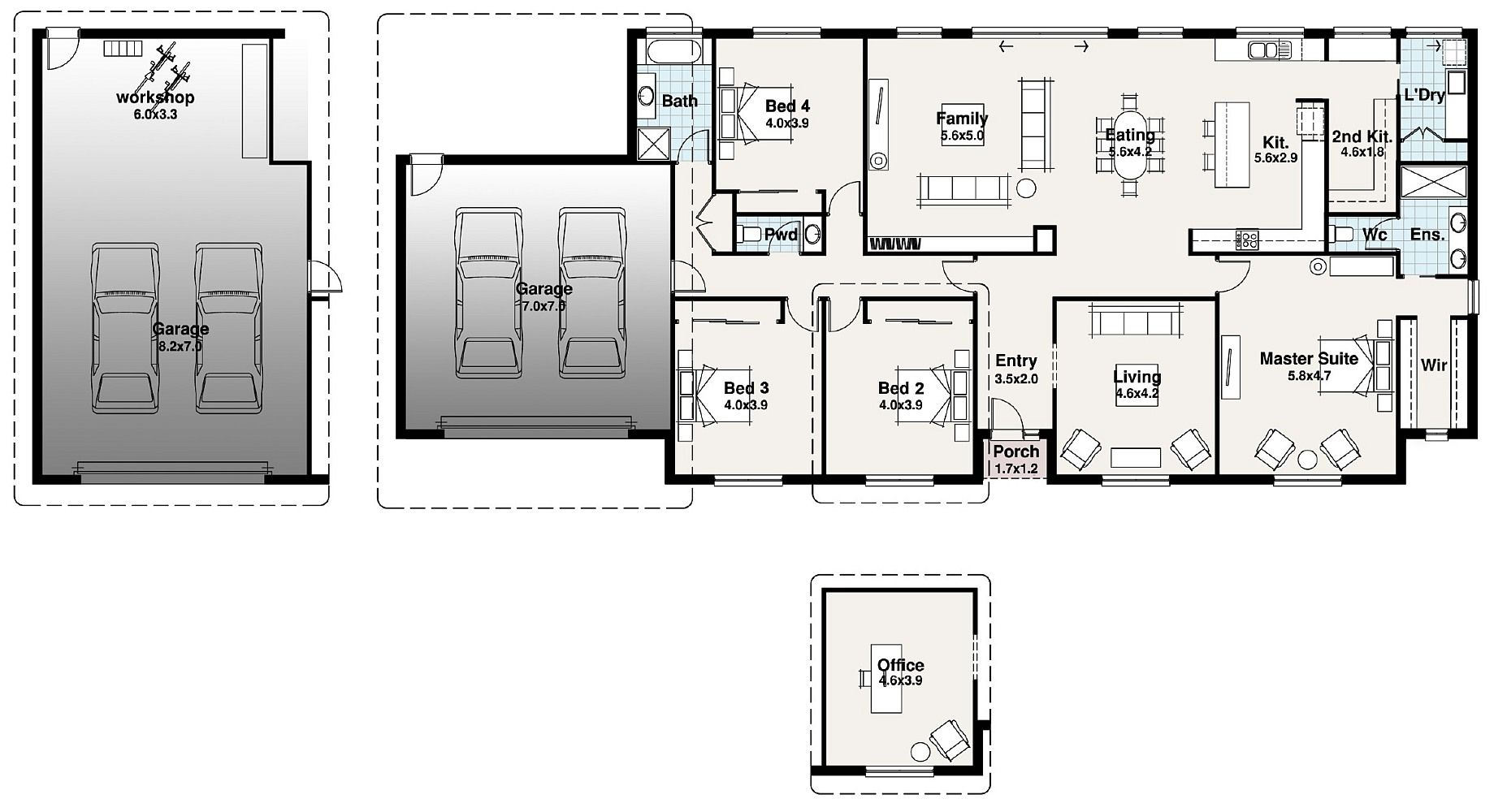Do It Yourself Home Design: Floor Plans, Future House, Homesteading