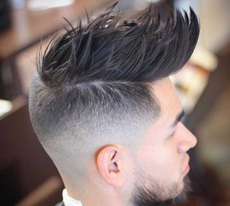 25 Best Faux Hawk Hairstyles Fohawk For Men In 2020 Men S Hairstyle Tips Faux Hawk Hairstyles Hair Styles Thick Hair Styles
