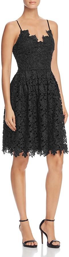 AQUA Lace Cami Dress