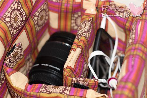 Best DIY Camera Bag Tutorials   Dslr camera bag, Camera ...