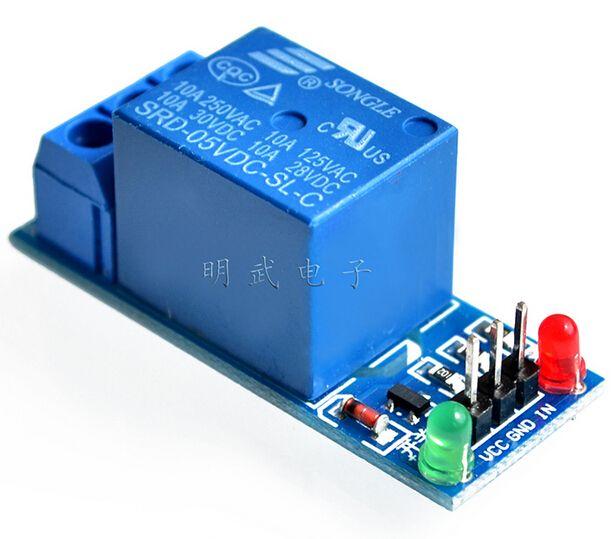 Mo đun Tiếp 1 đường 5 V Low Level Kich Hoạt Relay Board Mở Rộng Co