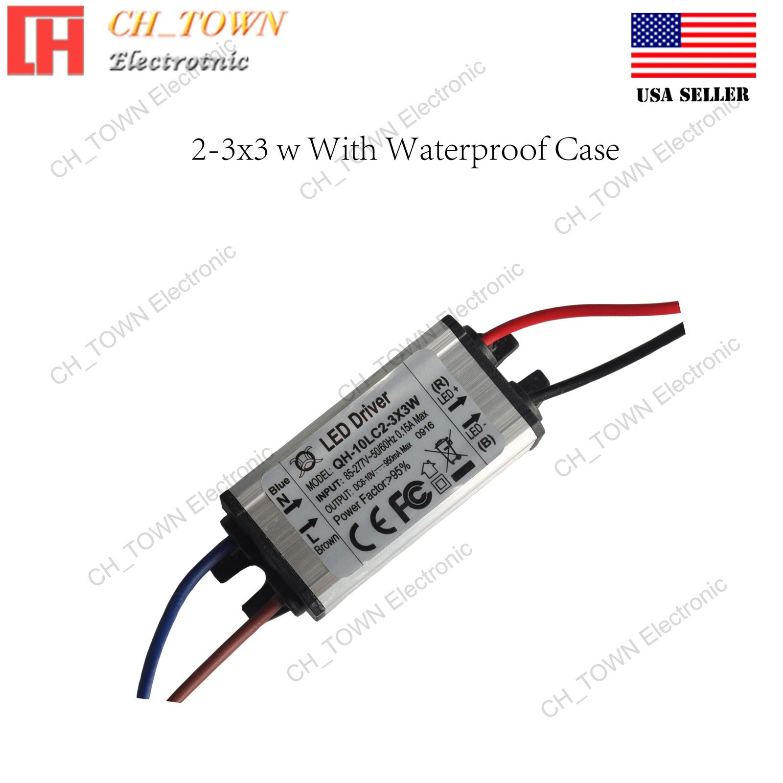 7 38 Constant Current Led Driver 10w Dc 6 10v 900ma Lamp Waterproof Power Supply Ebay Home Garden Led Ebay