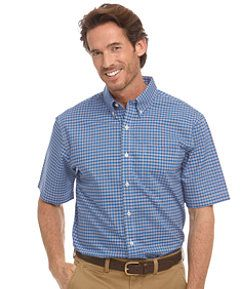 #LLBean: Wrinkle-Free Kennebunk Sport Shirt, Traditional Fit Short-Sleeve Check