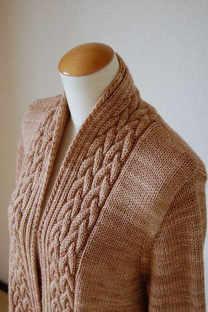 Photo of Kore Cardi pattern by Yoko Johnston