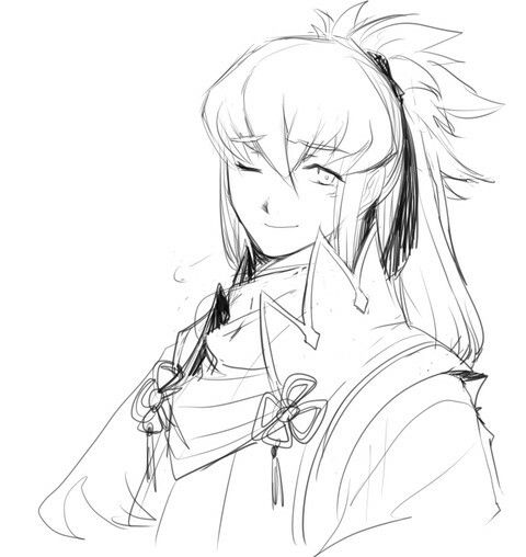 Takumi; slightly amused(?)