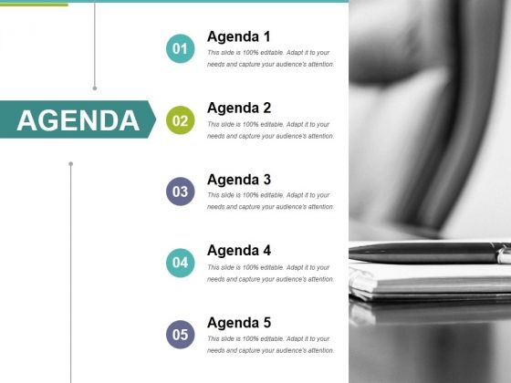 Professionally designed, visually stunning - Agenda Template 3 Ppt