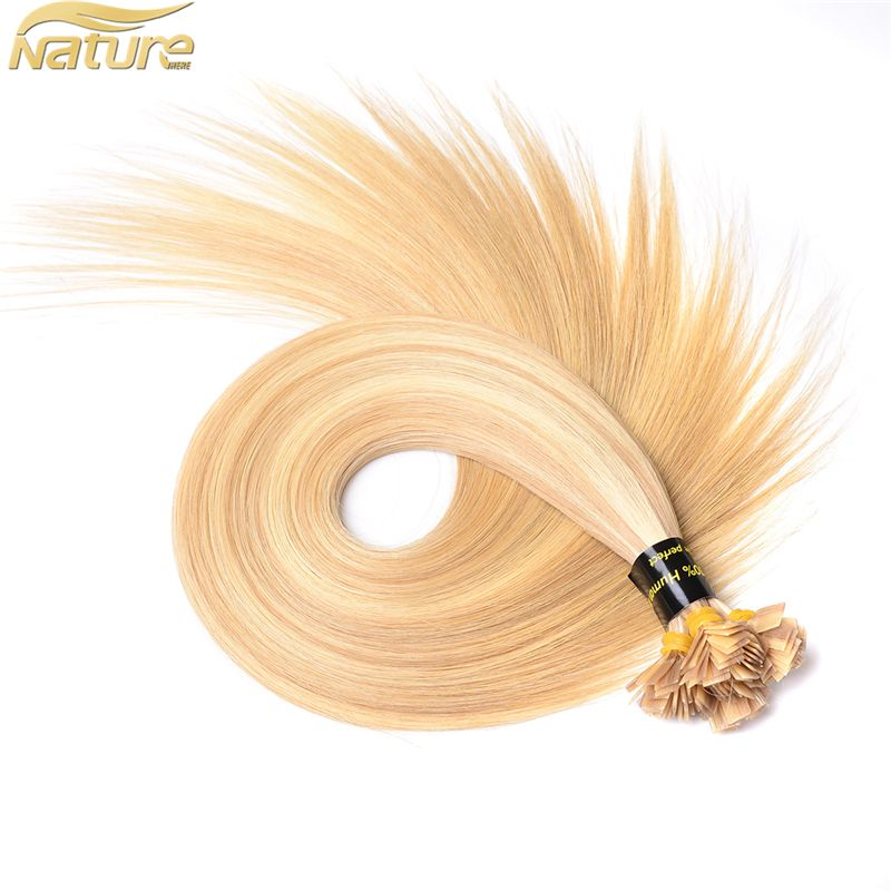 Prebonded Hair Double Drawn Human Hair U Tipflat Tipi Tip Hair