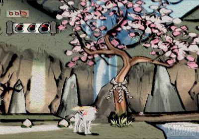 Okami Blossom Okami Pinterest Art Painting And Game Art