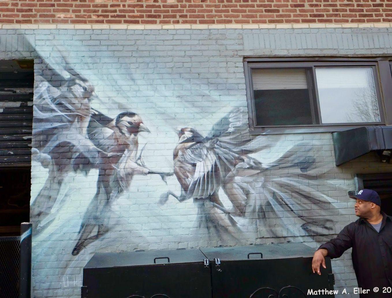 LI-HILL  'Casting Shadows' in Brooklyn ..  [New York, USA 2015]