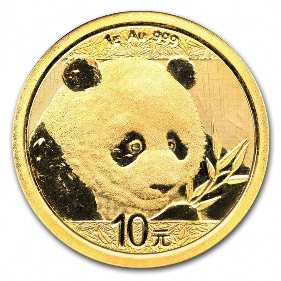 Chine 10 Yuan Panda Or 1 Gramme 2017 China 1 Gram Gold Coin Bu Sealed Goldinvesting