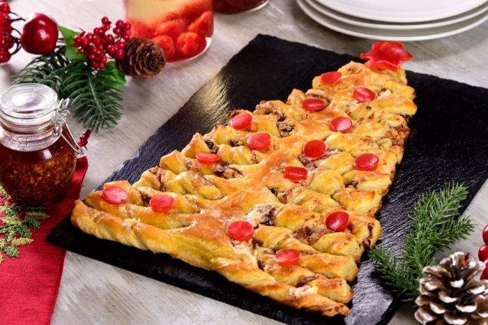 ▷ 1001 + idées culinaires pour faire un sapin feuilleté de Noël parfait