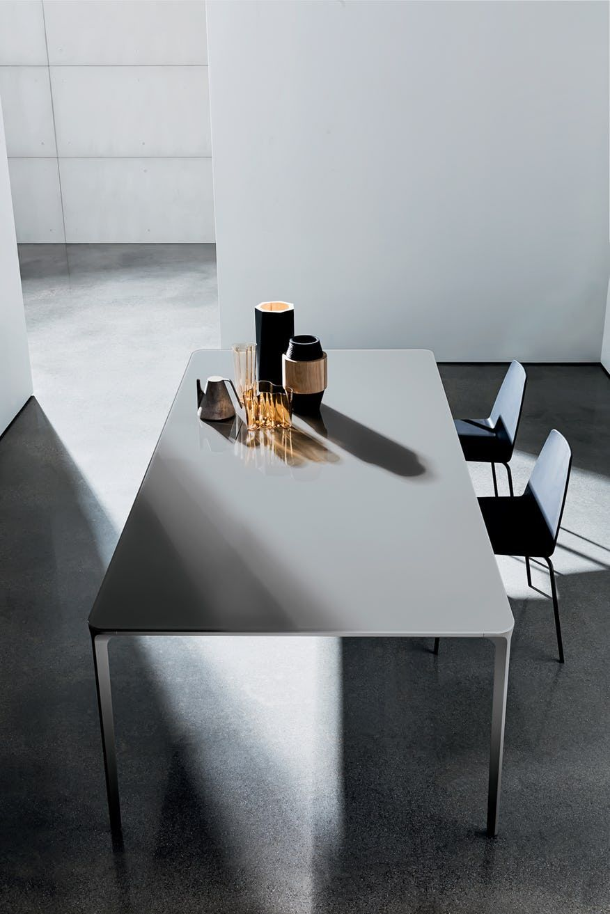 Slim Dining Table By Sovet Now Available At Haute Living Glass