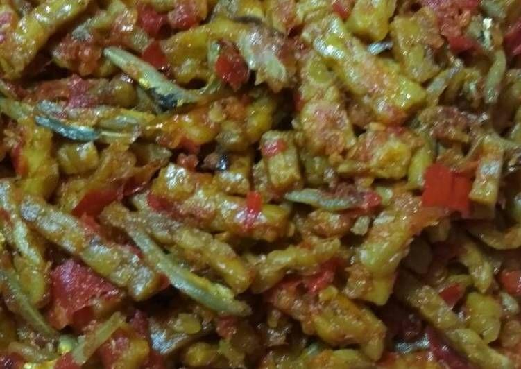 Resep Sambal Teri Tempe Uleg Goyang Oleh Aa Koki Resep Makanan Wajan Tumis