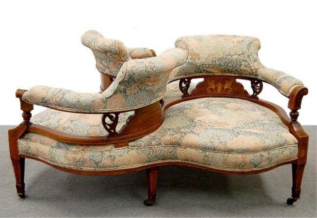 Tete A Tete Chair 79 Victorian French Tete A Tete 3 Seat