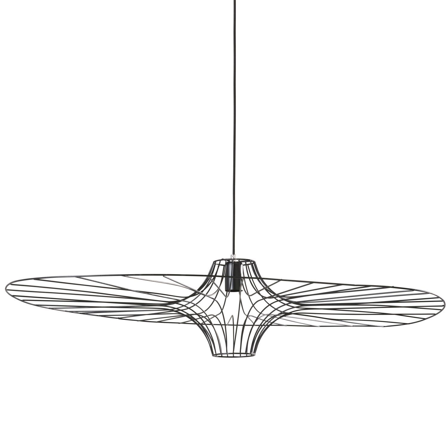 Suspension Style Vertigo Pas Cher Black Wire Pendant Atoll Light Pendant Lighting Ceiling