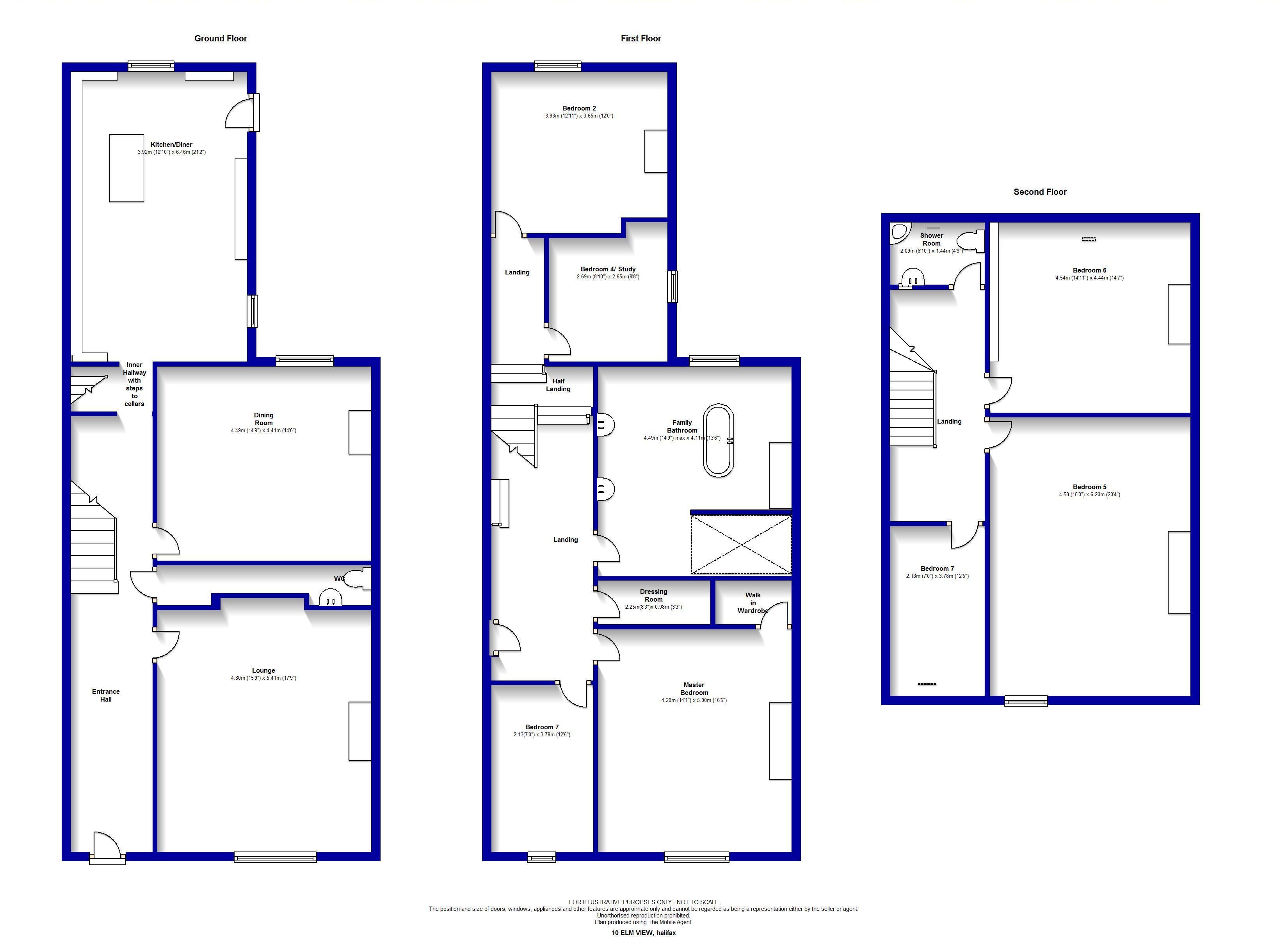 terraced house floor plan
