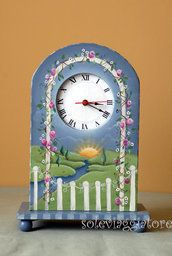 orologio giardino con vano portaoggetti soleviaggiatore 55,00 €