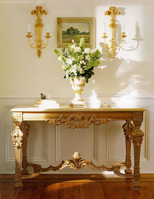 console tableshome entry decorconsole table and carved wood