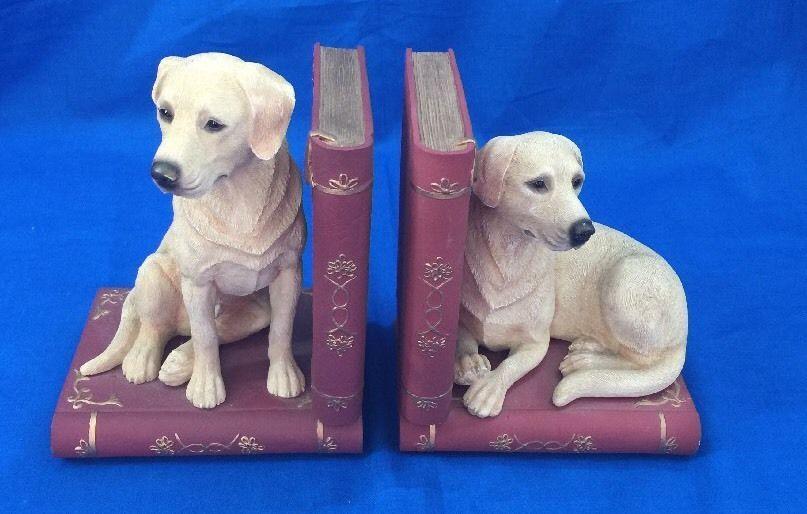Yellow Labrador Retriever Bookends Leonardo Collection Labs Dog