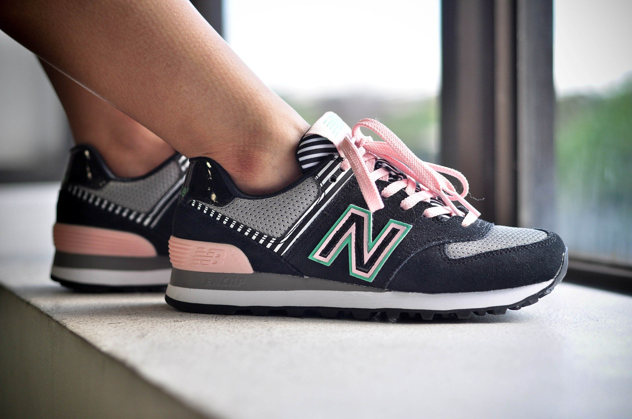 new balance 574 mujer palm spring