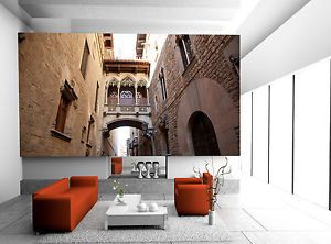Barcelona Gothic Wall Mural Photo Wallpaper GIANT DECOR Paper Poster