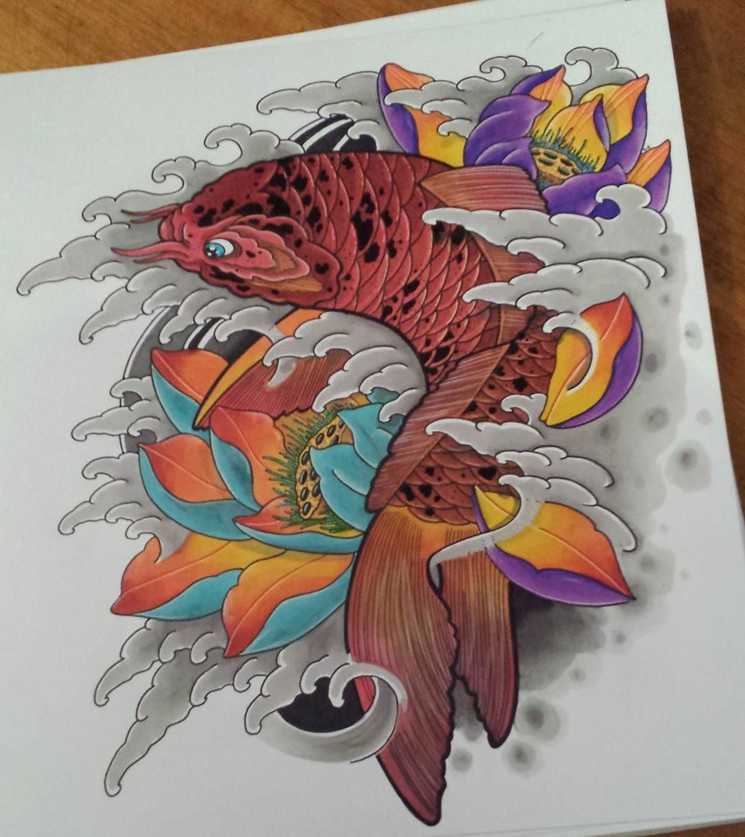 irezumi_sketches #tattooart #tattoodesign #tattooflash ...