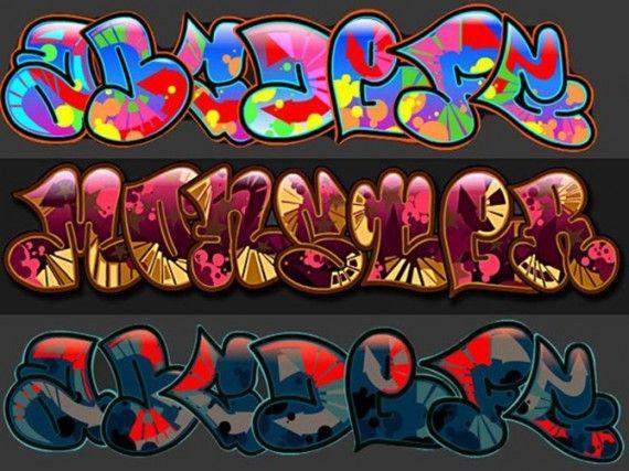 Graffiti Coloring Pages Generator