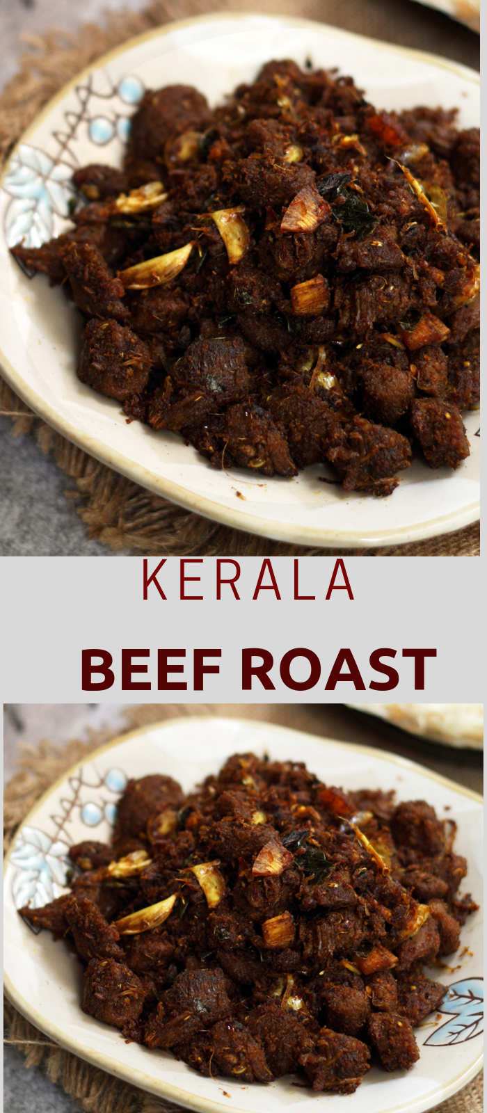 Beef Ularthiyathu Or Kerala Beef Fry Suji S Cooking Recipe Food Beef Dishes Beef Recipes