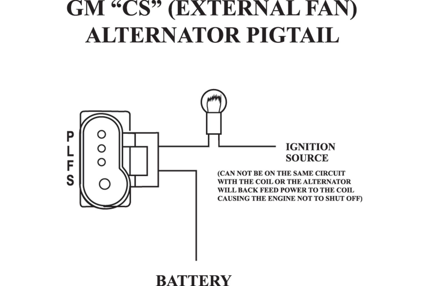 Ford Alternator Wiring Diagram External Regulator Of The External
