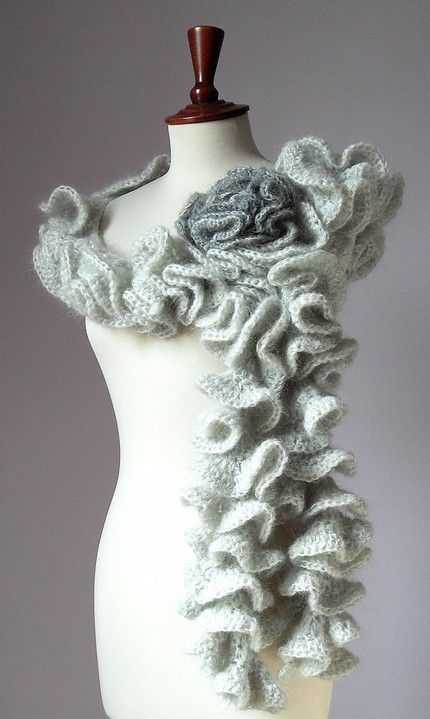 Free Printable Ruffle Scarf Crochet Pattern | ... patterns including ...