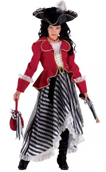 luxus piratin karnevalskost m piratin piratenkost m. Black Bedroom Furniture Sets. Home Design Ideas
