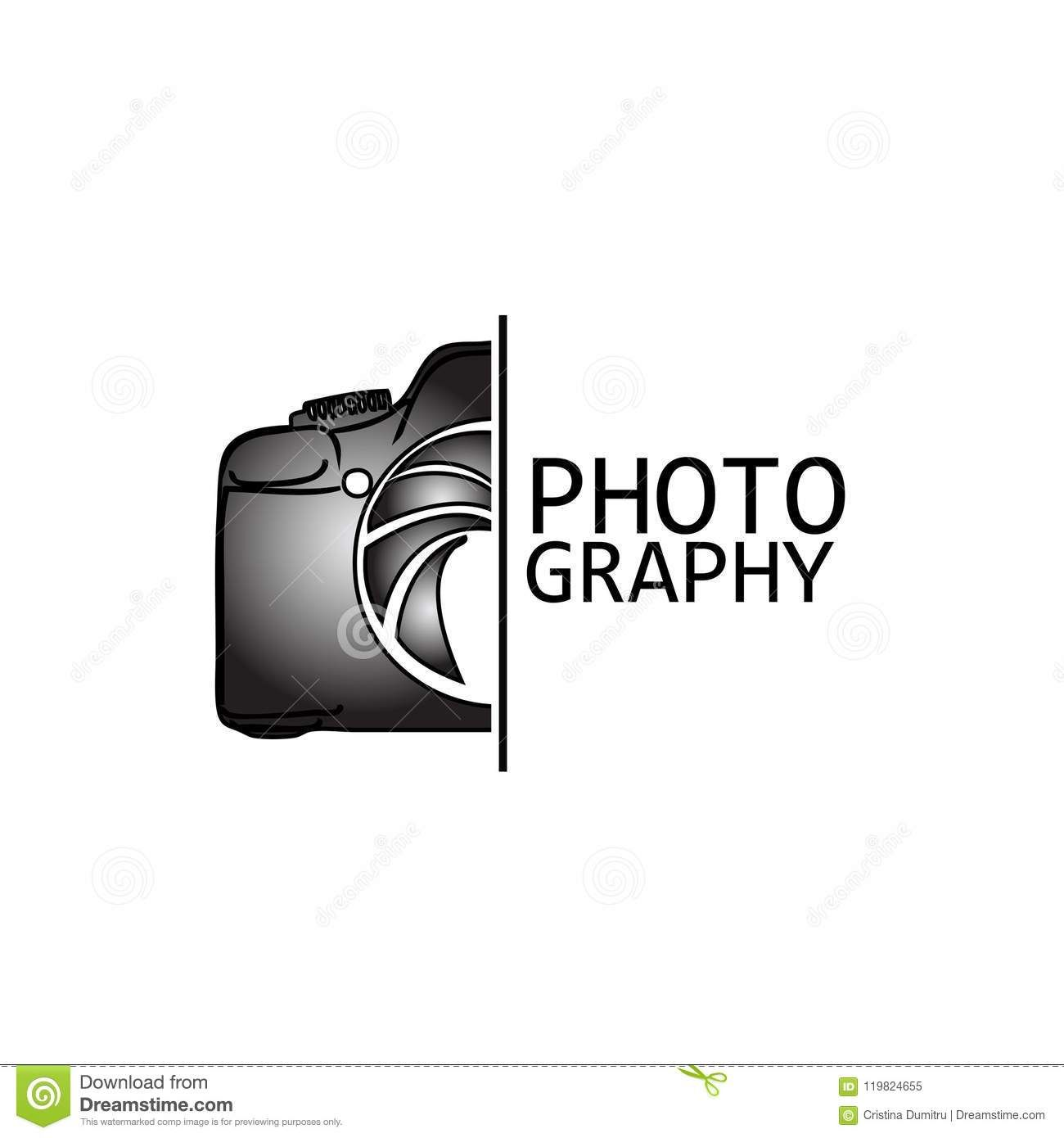 Photography Logo Concept Design Vector Template Stock Vector Illustration Of Design Photographer In 2021 Photography Name Logo Photography Logos Camera Logos Design Camera logo png hd free download