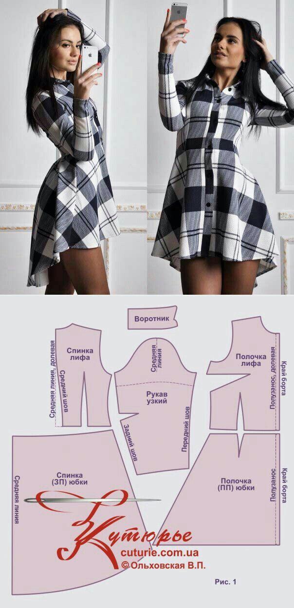 Pin de Nair Campos en roupas | Pinterest | Costura, Patrones y Molde