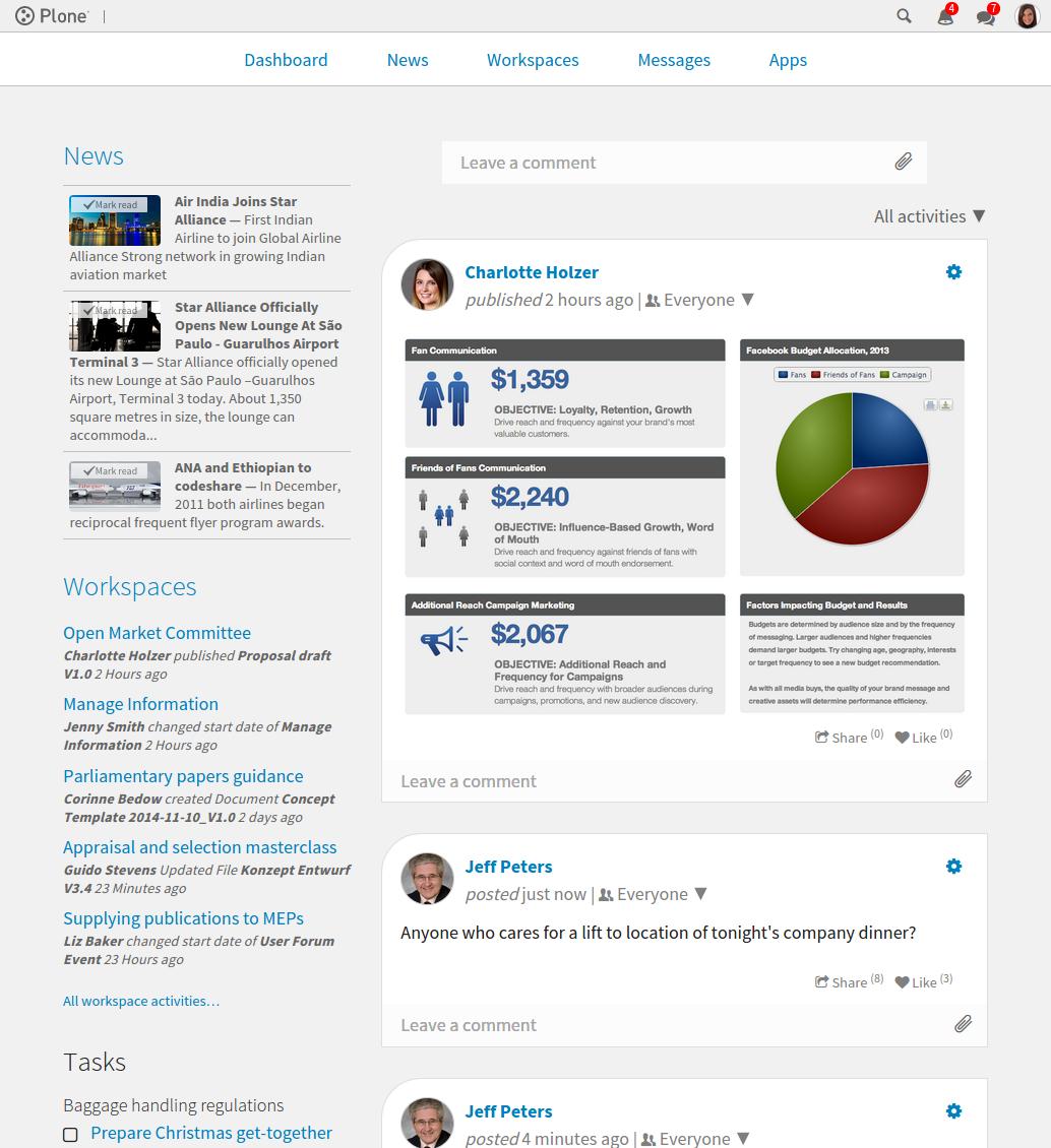 Plone Intranet Consortium Cosent Alliance Development Consortium