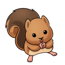 baby squirrel lots of clip art on this site cartoon figures rh pinterest com chipmunks clip art chipmunk pictures free clip art