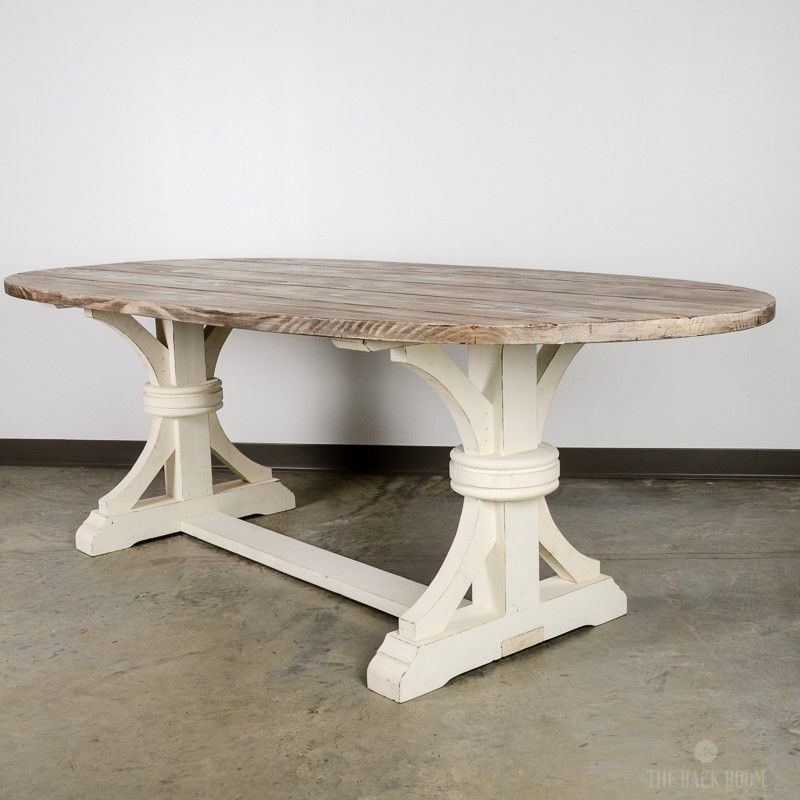 Oval Wood Dining Table With X Leg Oval Wood Dining Table