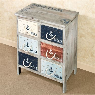 Nautique Nautical Storage Accent Chest