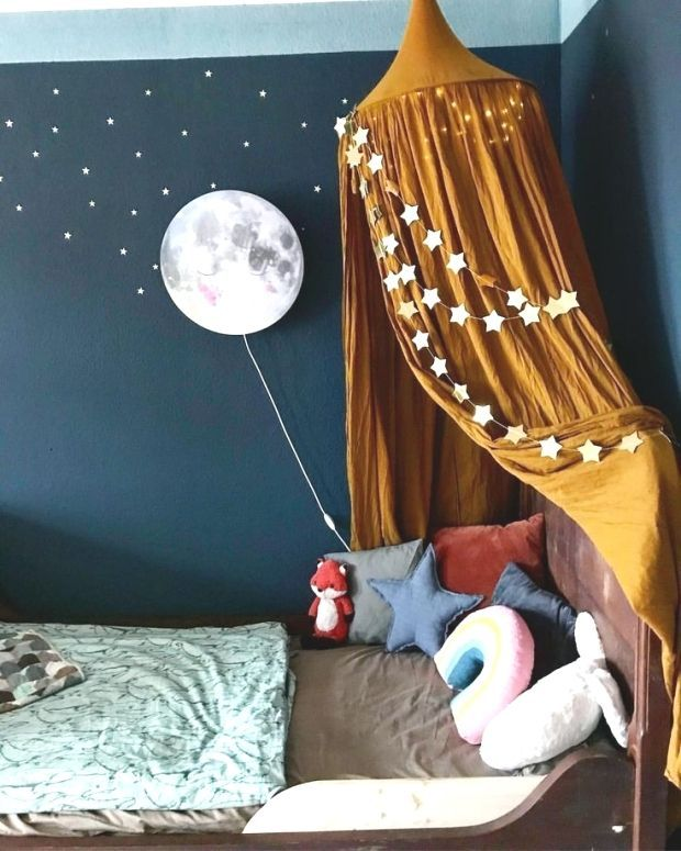 Kinderzimmer Wohnen Kidsroom Baldachin Betthimmel