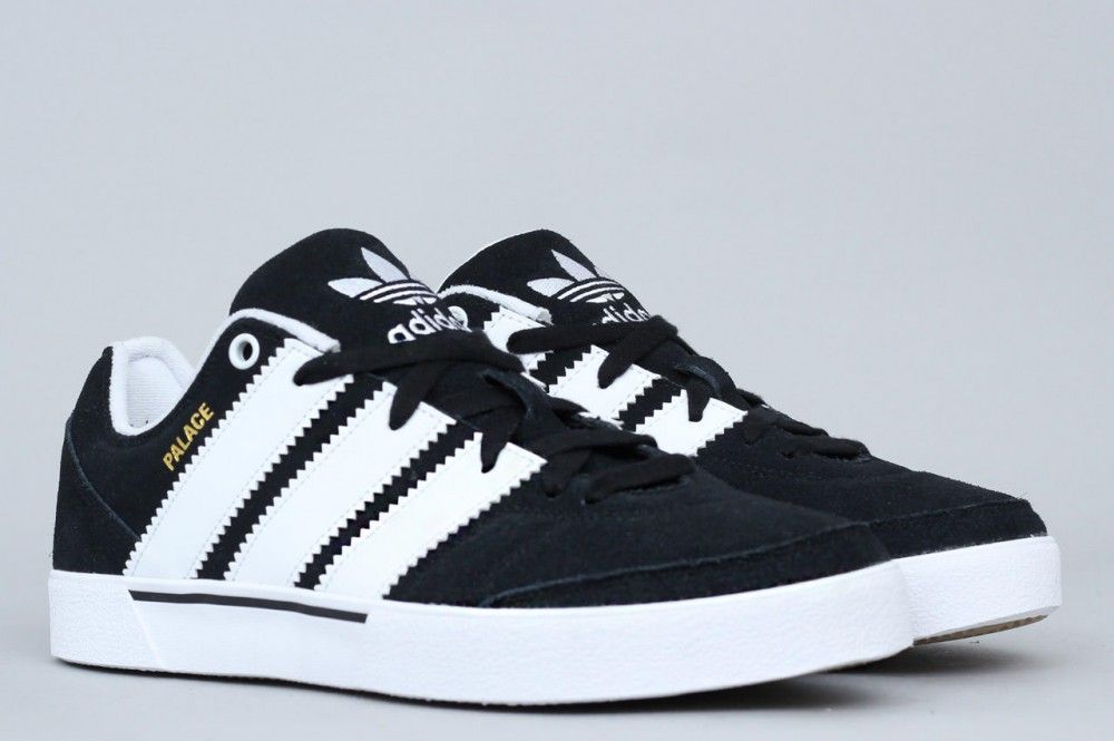 9a55a694545 adidas X Palace OReardon Shoes Core Black / Footwear White / Gum ...
