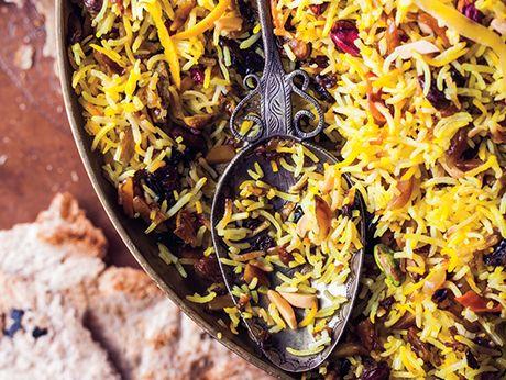 Jeweled Rice Recipe Food Recipes Food Cooking