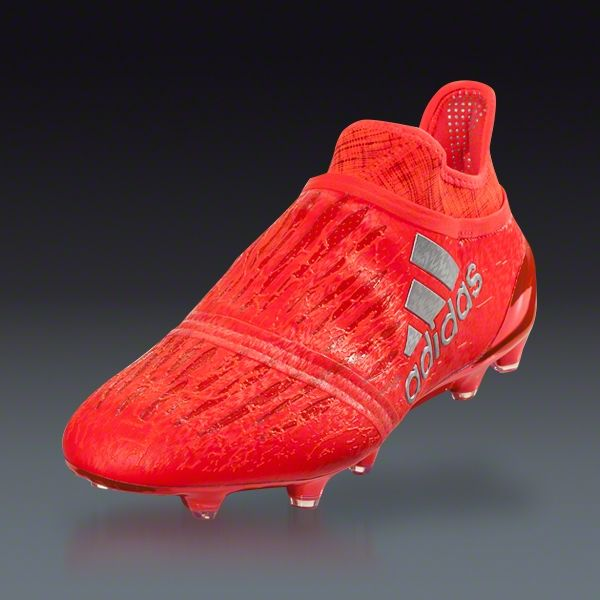 Soccer cleats · Buy adidas X 16+ Purechaos FG - SOLAR RED/SILVER  METALLIC/HI-
