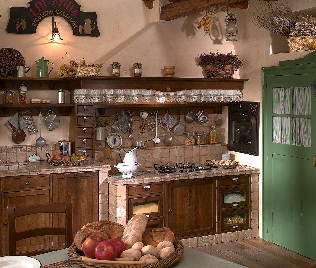 Fuegos de una cocina r stica casa pinterest cocinas for Muebles estilo rustico