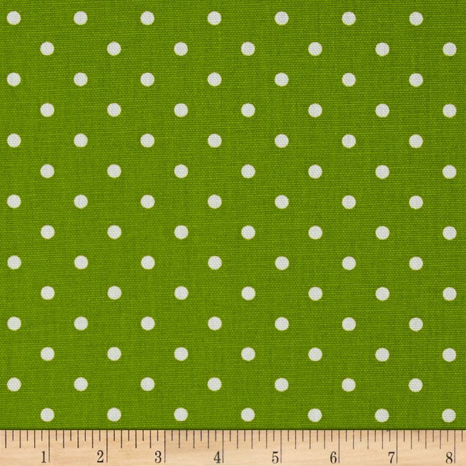 Premier Prints Mini Dot Chartreuse/White Fabric