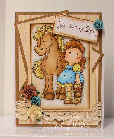 tilda with horse