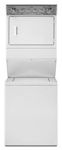 Maytag Stacked Laundry Overall 8 4 Cu Ft Washer Gas Dryer At Menards Gas Dryer Stacked Washer Dryer Maytag