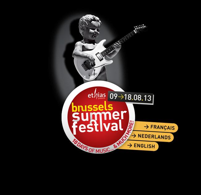 Jaarlijks 10-daags festival in de Brusselse stad. Tien dagen optredens van grote en kleinere namen